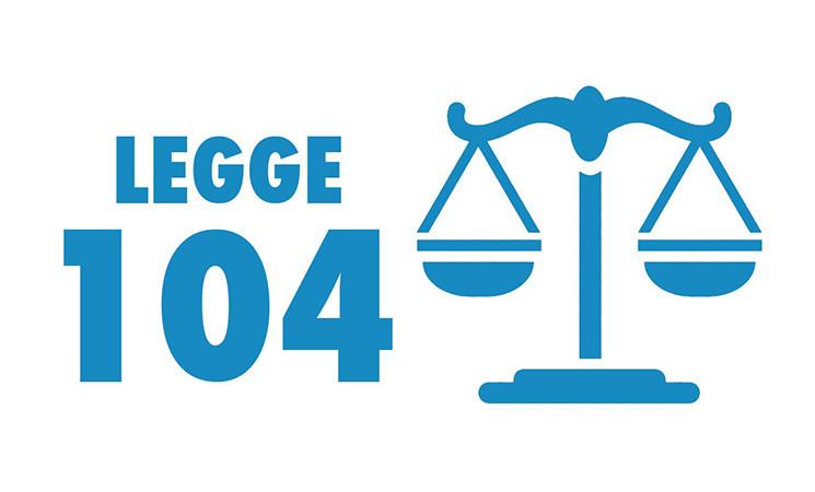 LEGGE 104: EMENDAMENTO, ESENZIONE DISABILI CANONE RAI 2019