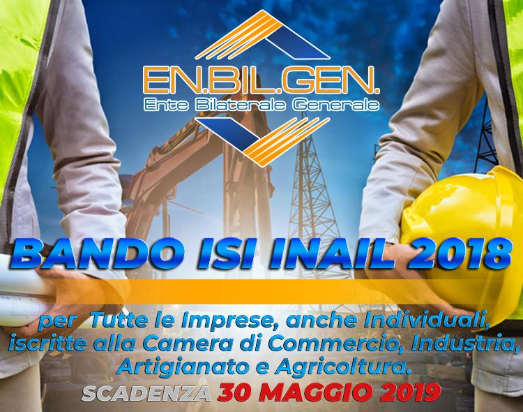 BANDO ISI INAIL 2018
