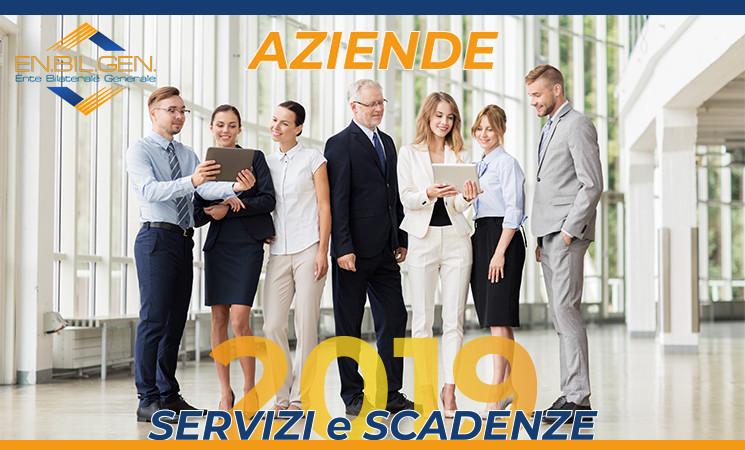 Calendario Bandi Servizi per le Imprese - Anno 2019